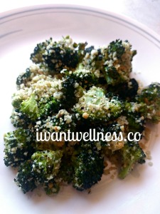 Crunchy Italian Garlic-Roasted Broccoli