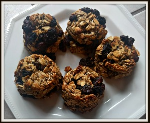 oatmeal raisin breakfast cookies